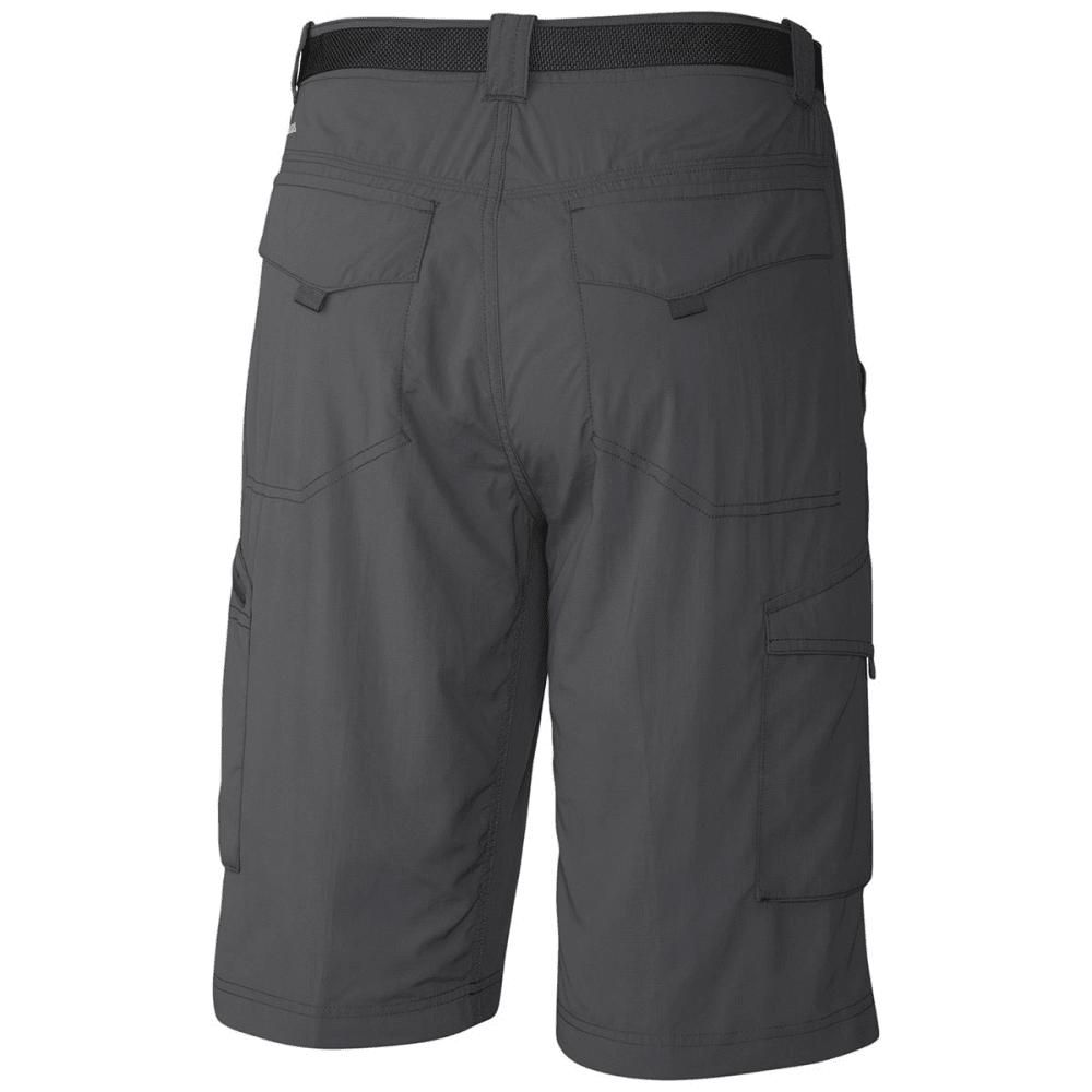 COLUMBIA Men's Silver Ridge Cargo Shorts, 10 IN. - 028-GRILL