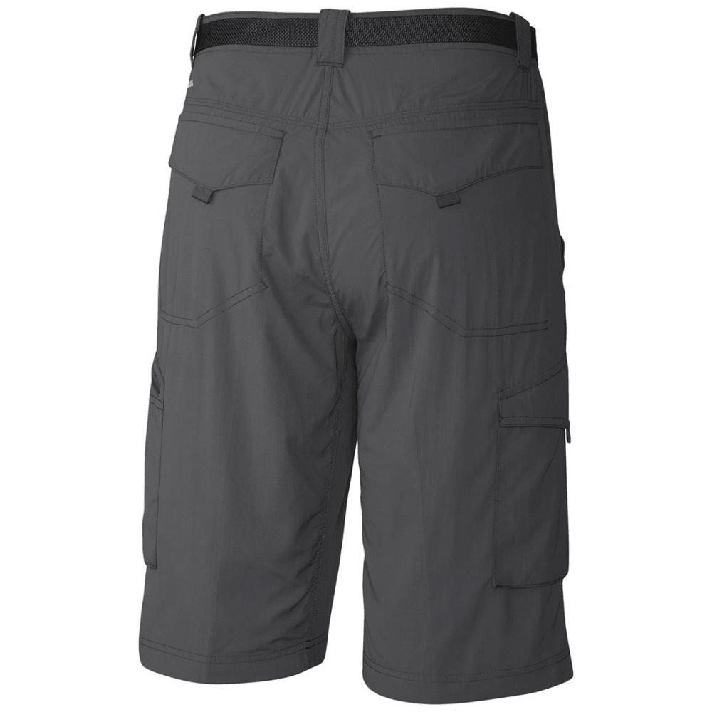 COLUMBIA Men's Silver Ridge Cargo Shorts, 10 in. - 028-GRILL