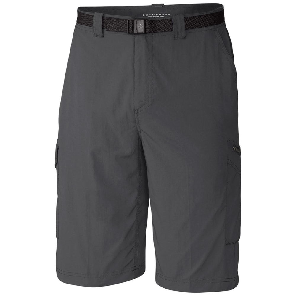 COLUMBIA Men's Silver Ridge Cargo Shorts, 10 in. 30