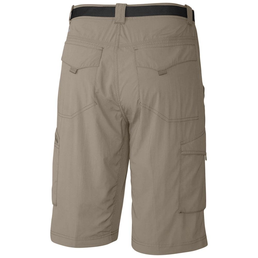 COLUMBIA Men's Silver Ridge Cargo Shorts, 10 IN. - 221-TUSK