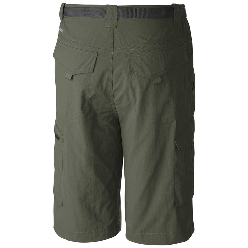 COLUMBIA Men's Silver Ridge Cargo Shorts, 10 in. - CYPRESS-316