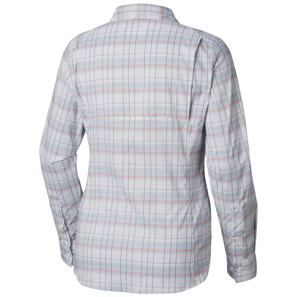 10e64492e COLUMBIA Women's Silver Ridge Lite Plaid Long-Sleeve Shirt - Eastern ...