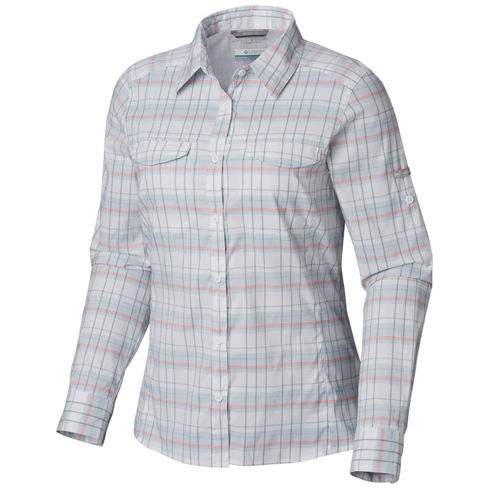 808acde5160 COLUMBIA Women's Silver Ridge Lite Plaid Long-Sleeve Shirt - 032. Hover  to zoom