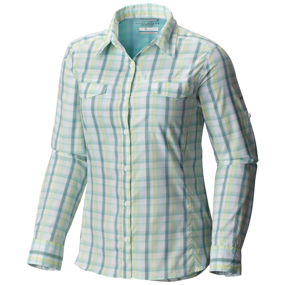 COLUMBIA Women's Silver Ridge Lite Plaid Long-Sleeve Shirt XS