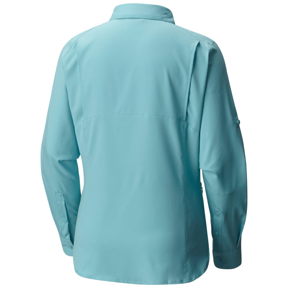 COLUMBIA Women's Silver Ridge Lite Long-Sleeve Shirt - 341-ICEBERG