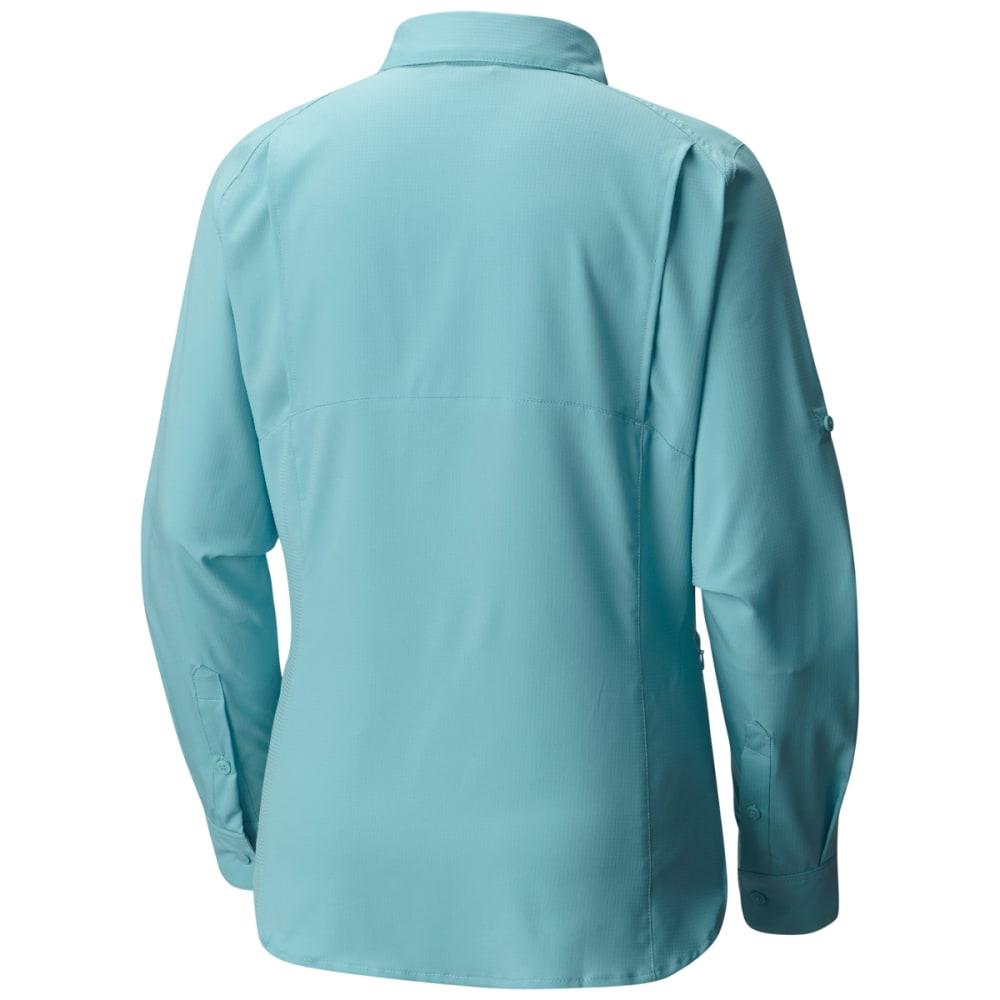 COLUMBIA Women's Silver Ridge Lite Long-Sleeve Shirt - 341-ICEBERG