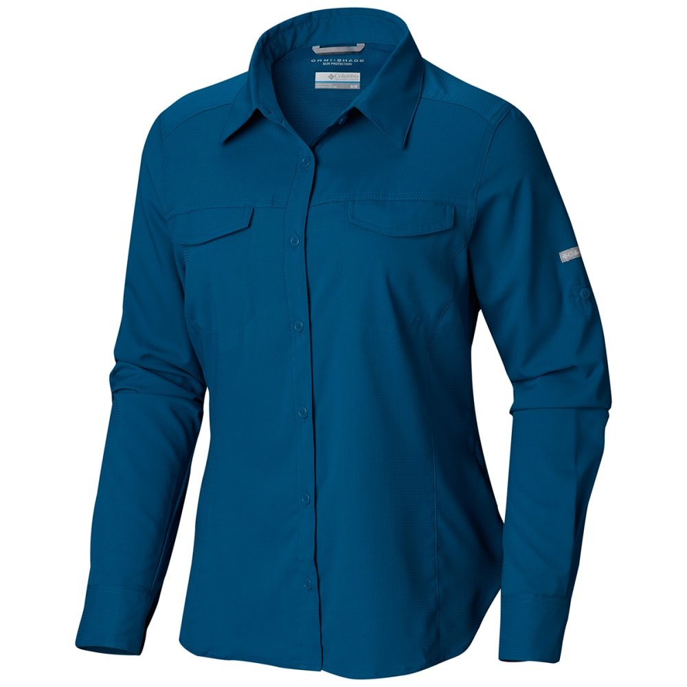 COLUMBIA Women's Silver Ridge Lite Long-Sleeve Shirt - 462-SIBERIA