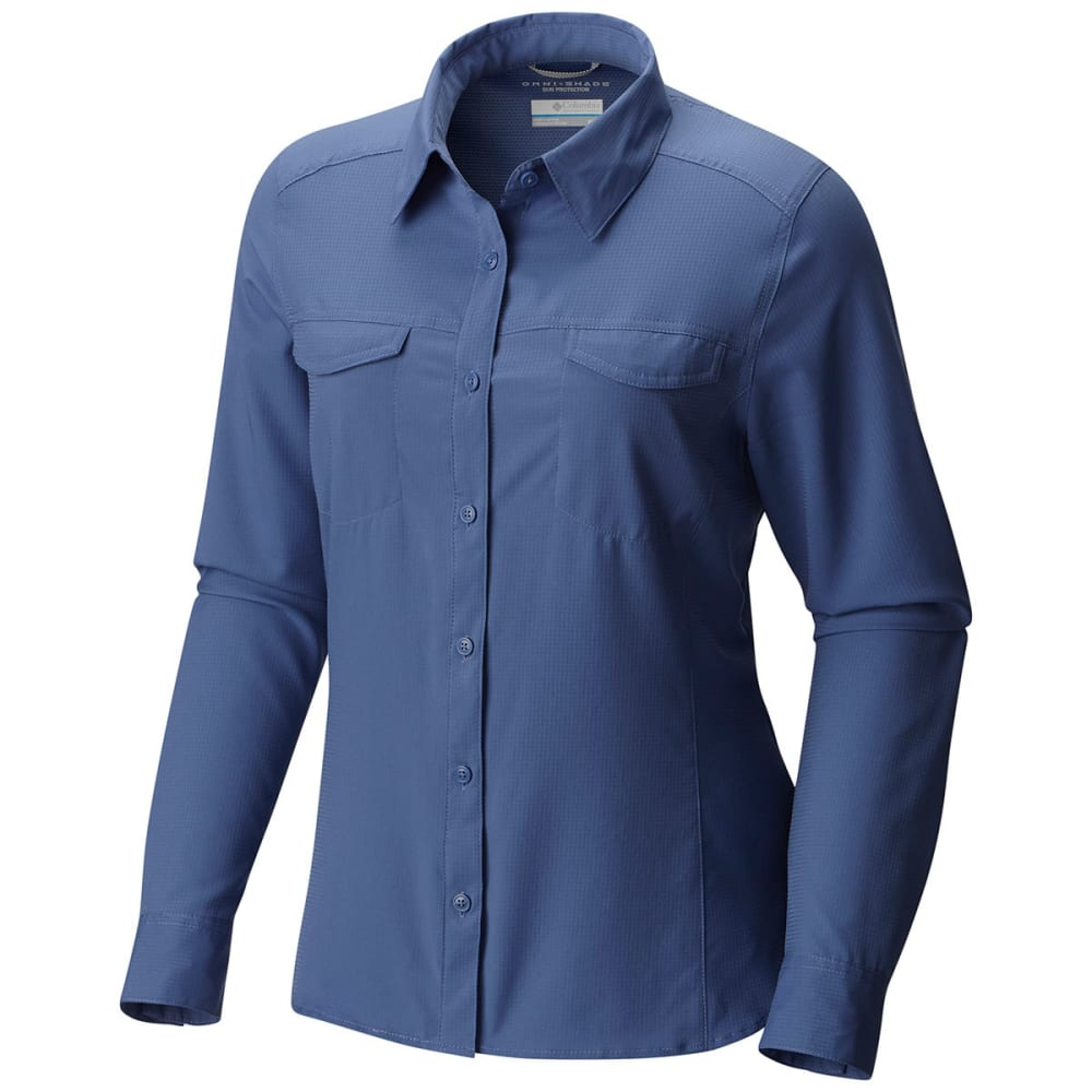 COLUMBIA Women's Silver Ridge Lite Long-Sleeve Shirt - 508-BLUEBELL