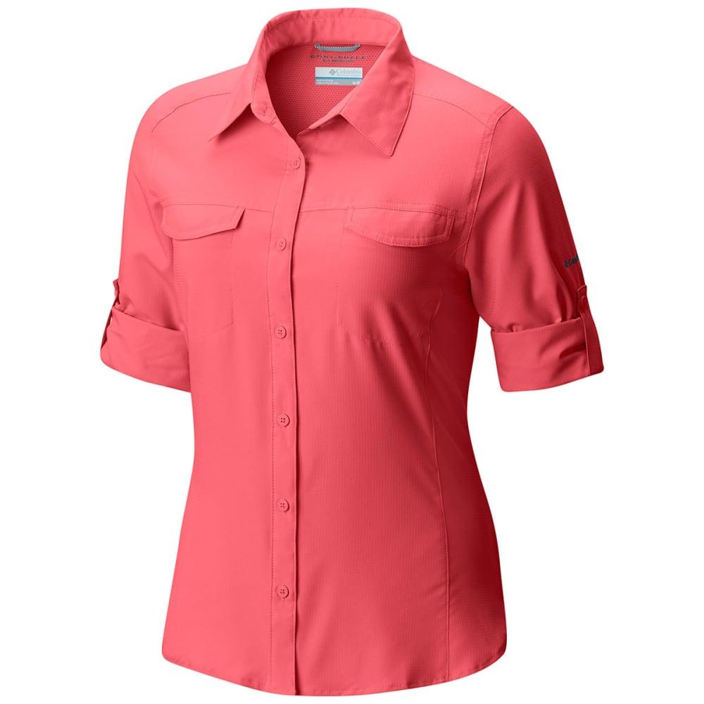 COLUMBIA Women's Silver Ridge Lite Long-Sleeve Shirt - 615-BLUSH PINK
