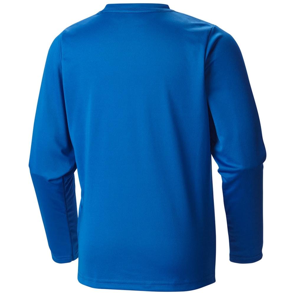 COLUMBIA Boys' Terminal Tackle Long-Sleeve Tee - 438-SUPER BLUE