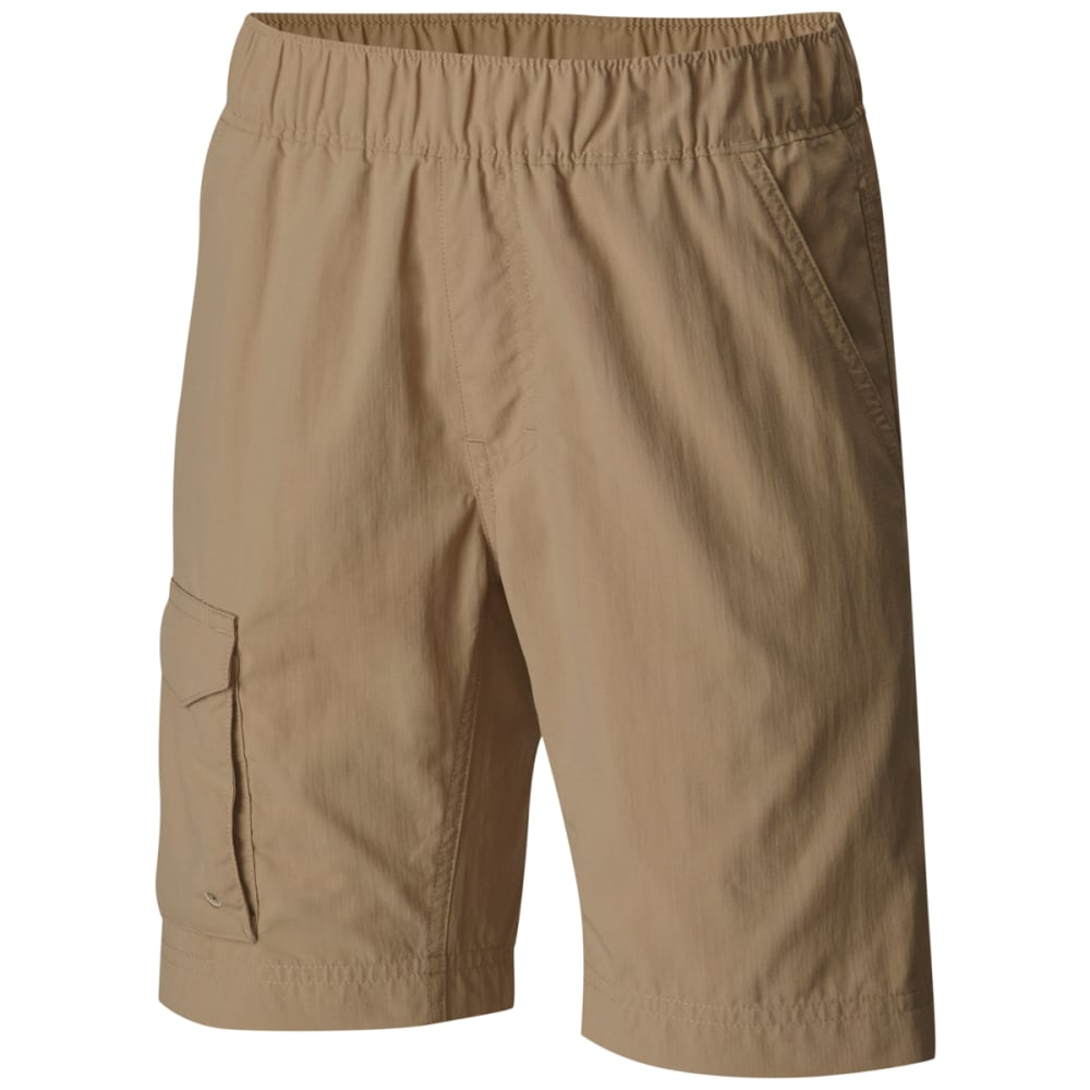 COLUMBIA Boys' Silver Ridge Pull-On Shorts - BRITISH TAN-265