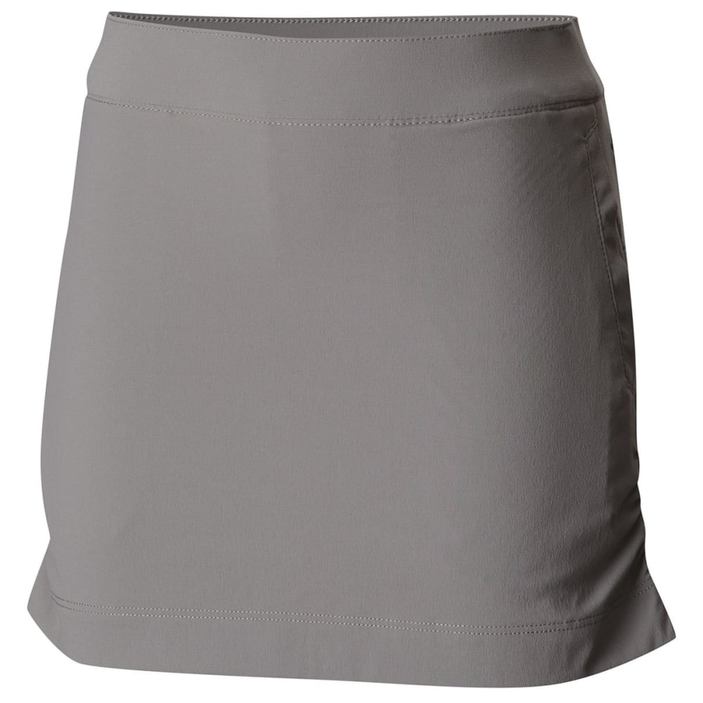 COLUMBIA Girls' Athena Skort - 060-LIGHT GREY