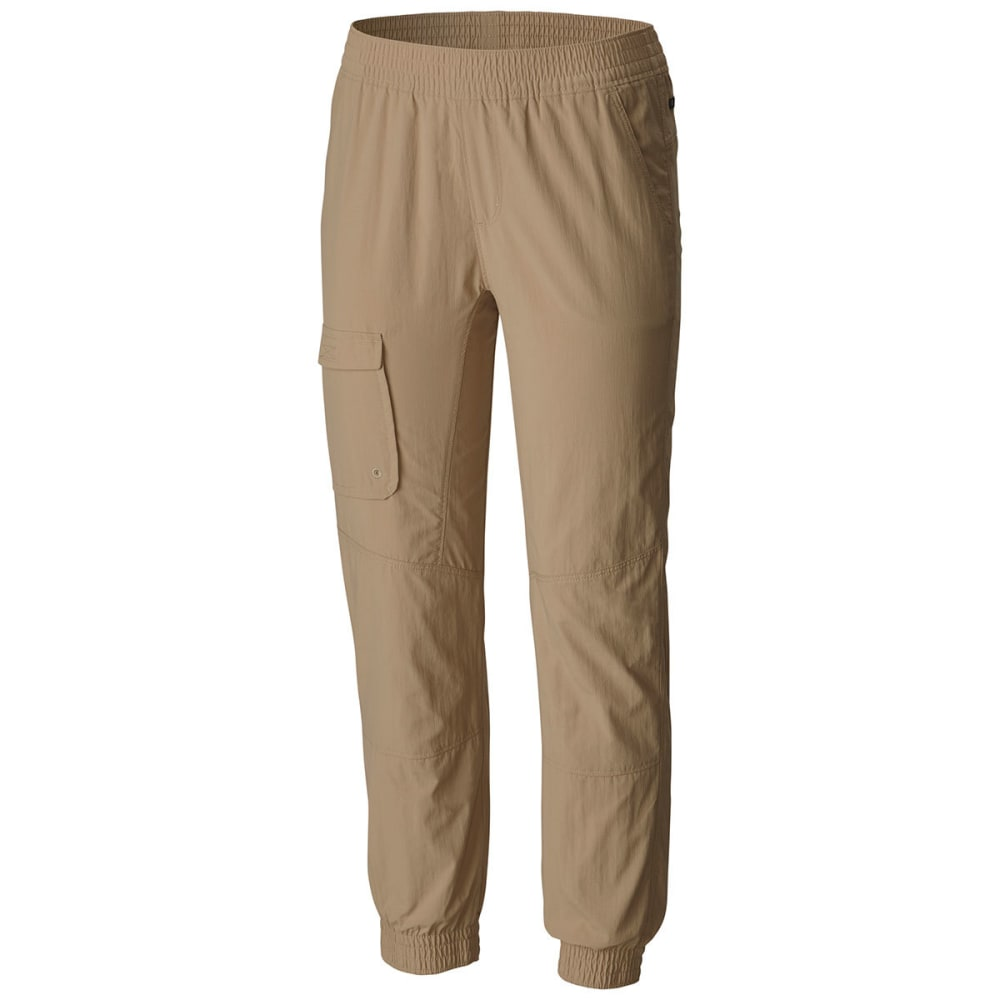 COLUMBIA Girls' Silver Ridge Pull-On Banded Pants - 265-BRITISH TAN