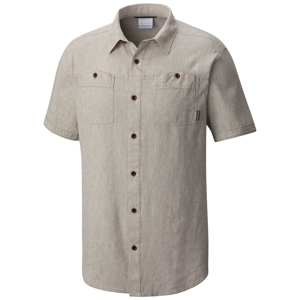 COLUMBIA Men's Southridge Short-Sleeve  Shirt - 005-KETTLE