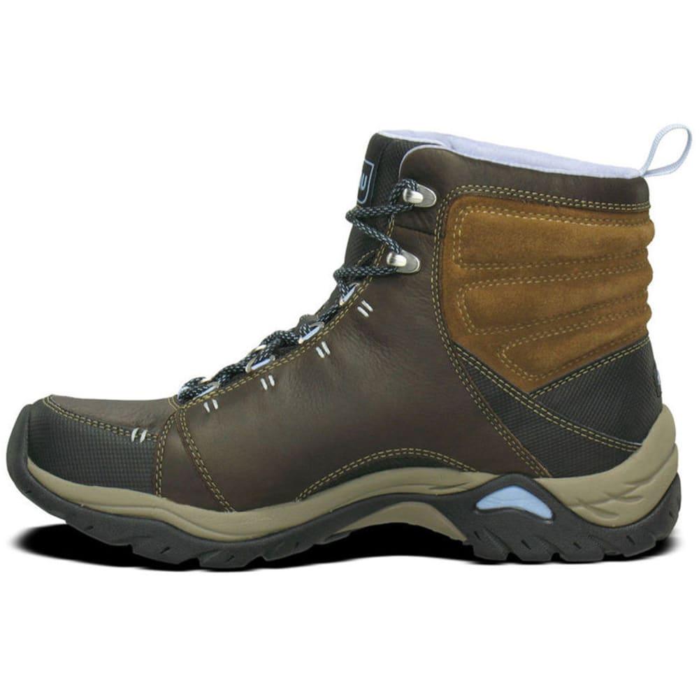 AHNU Women's Montara Leather Boots, Smokey Brown - SMOKEY BROWN