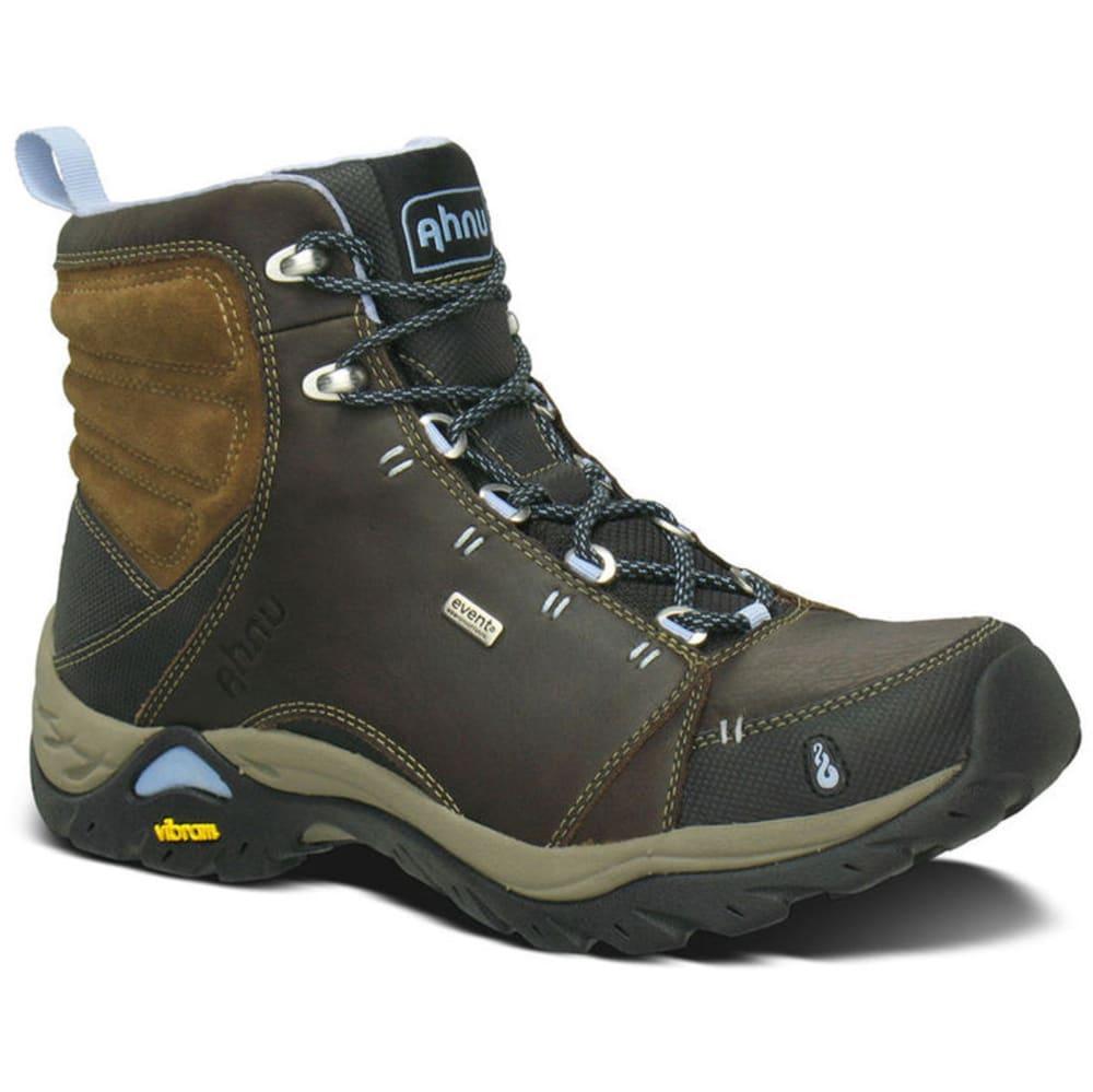 Ahnu Womens Brown Boot Boots Montara Waterproof Smokey