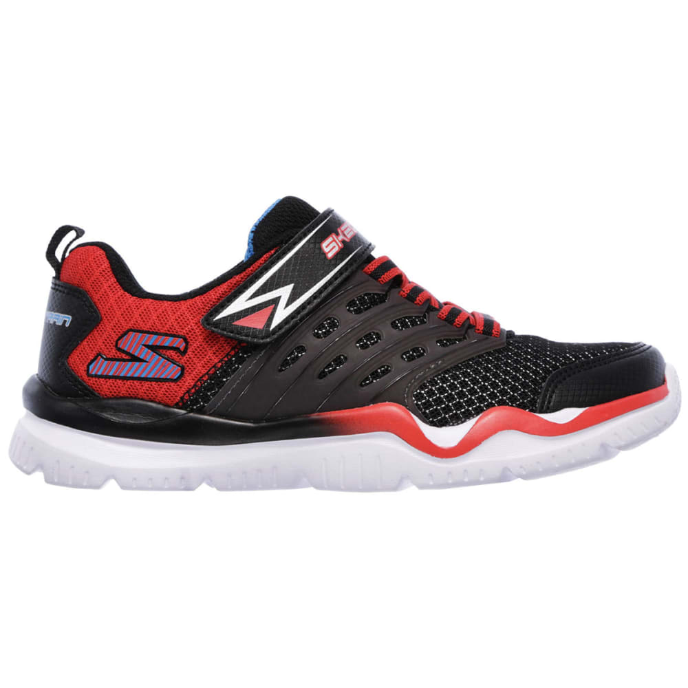 SKECHERS Boys' Skech-Train Sneakers, Black/Red - BLACK