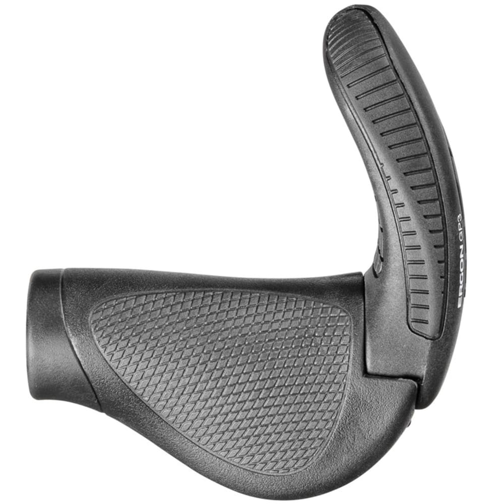 ERGON GP3 Handlebar Grips - BLACK