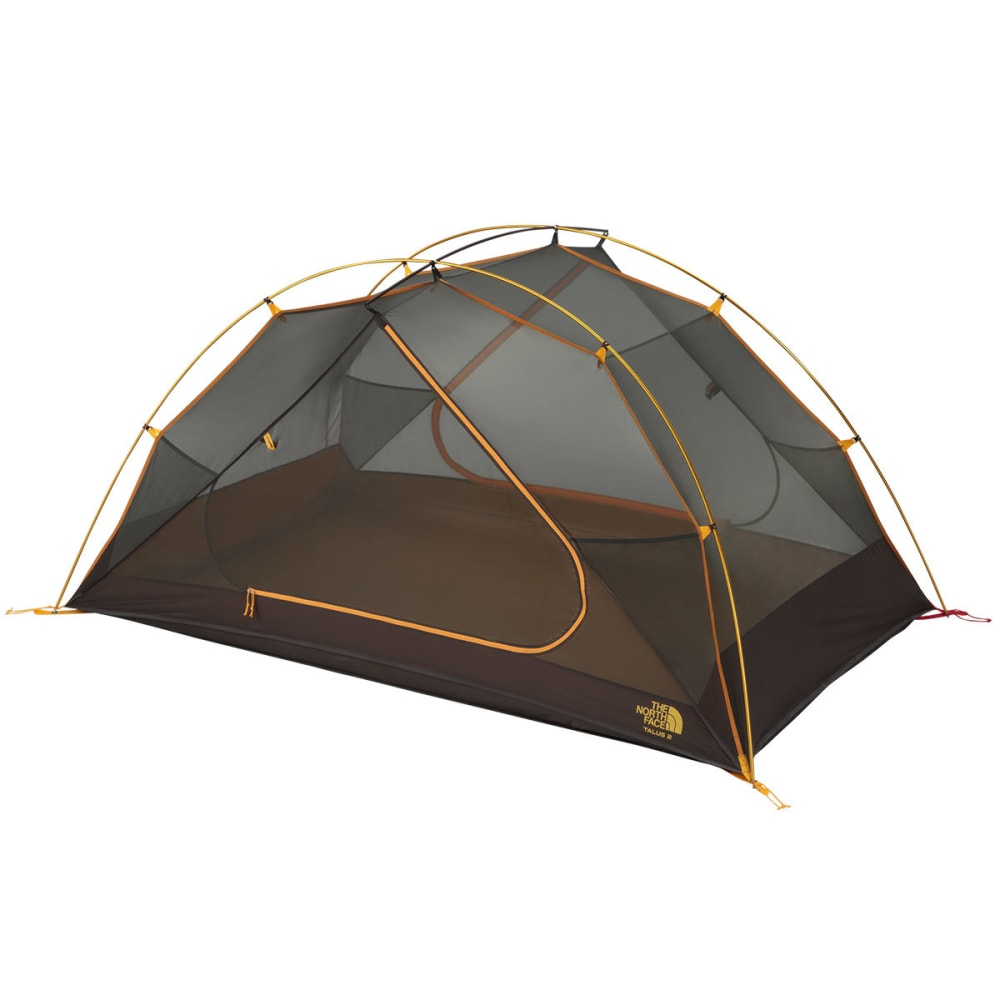 THE NORTH FACE Talus 2 Tent - GOLDEN OAK/SAFFRON