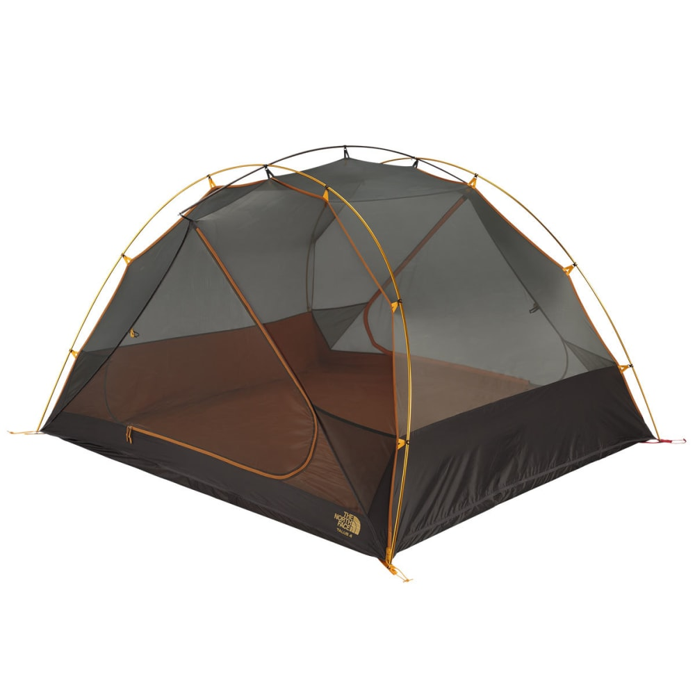 THE NORTH FACE Talus 4 Tent - GOLDEN OAK/SAFFRON