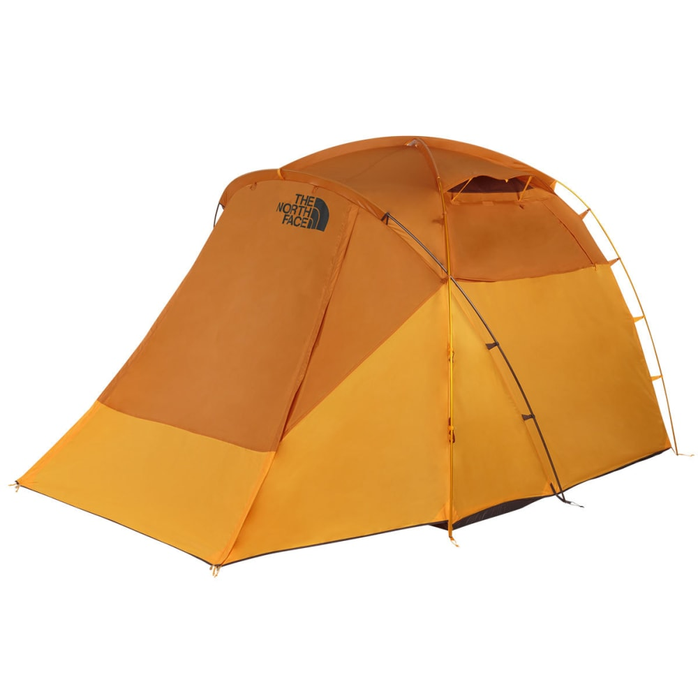 THE NORTH FACE Wawona 4 Tent - GOLDEN OAK/SAFFRON