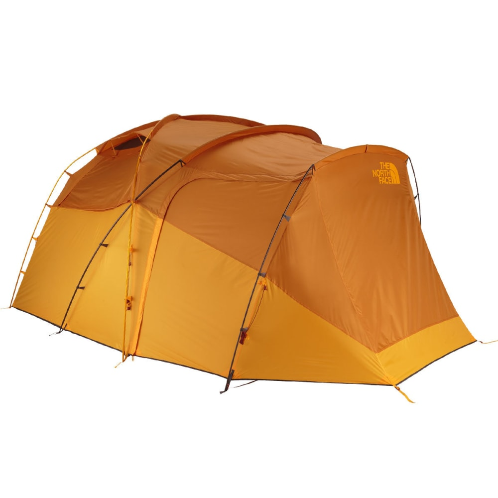 THE NORTH FACE Wawona 6 Tent - GOLDEN OAK/SAFFRON