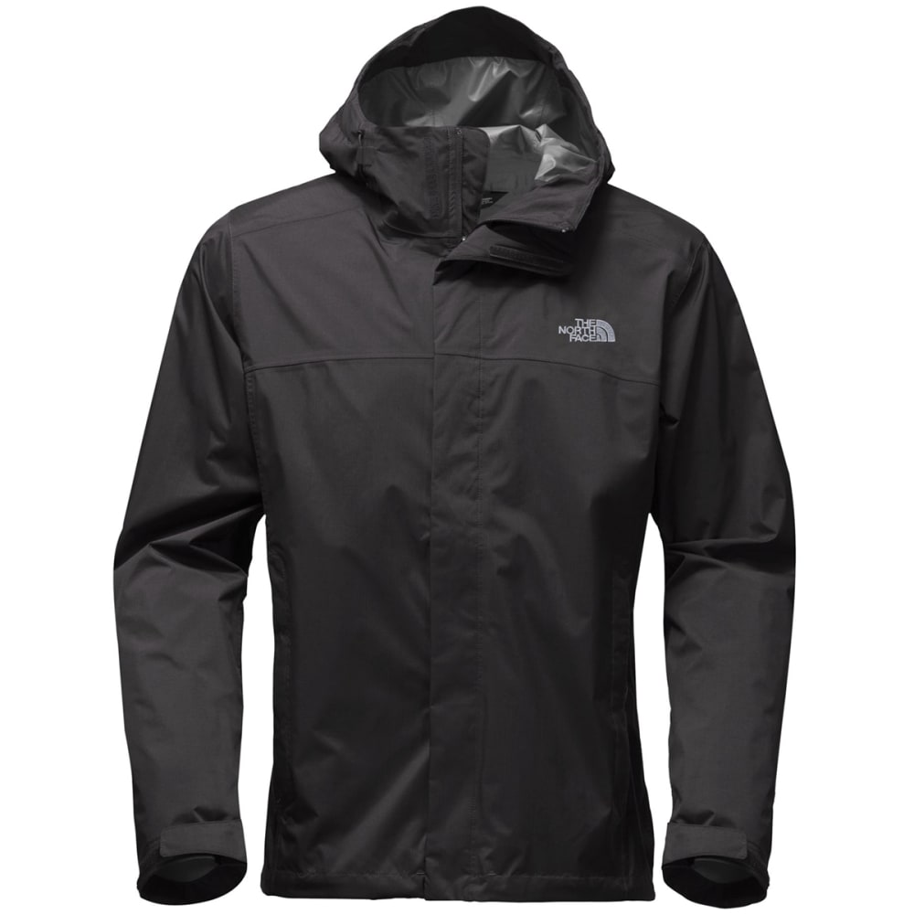 THE NORTH FACE Men's Venture 2 Jacket, Tall - KX7-TNF BLK/TNF BLK
