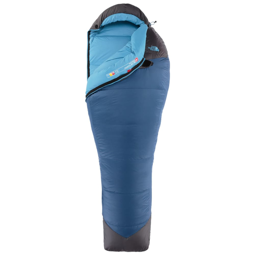 THE NORTH FACE Blue Kazoo Sleeping Bag, Long  - ENSIGN BLUE/GREY