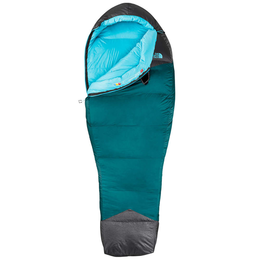 THE NORTH FACE Women's Blue Kazoo Sleeping Bag - BLUE CORAL/GREY