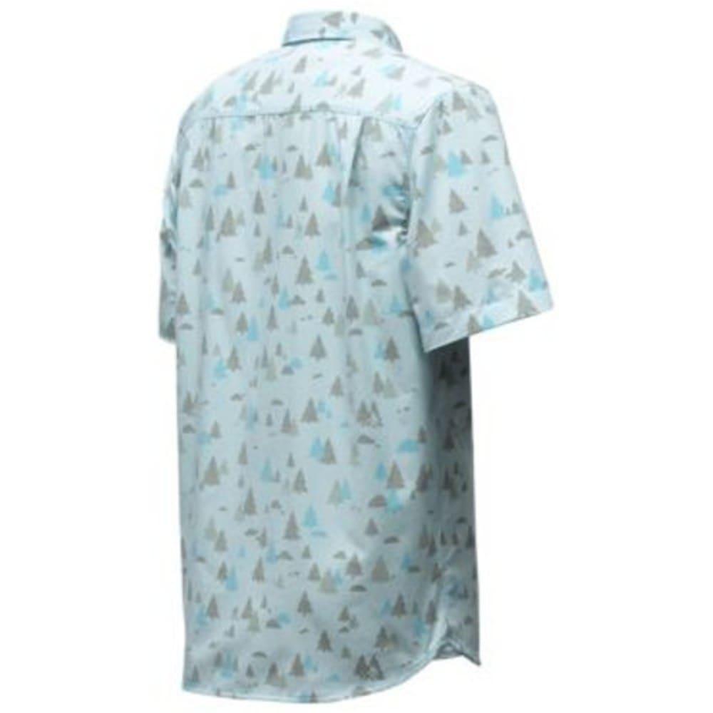 THE NORTH FACE Men's Short-Sleeve  Pursuit Shirt - SJB-BLIZZARD BLUE SA