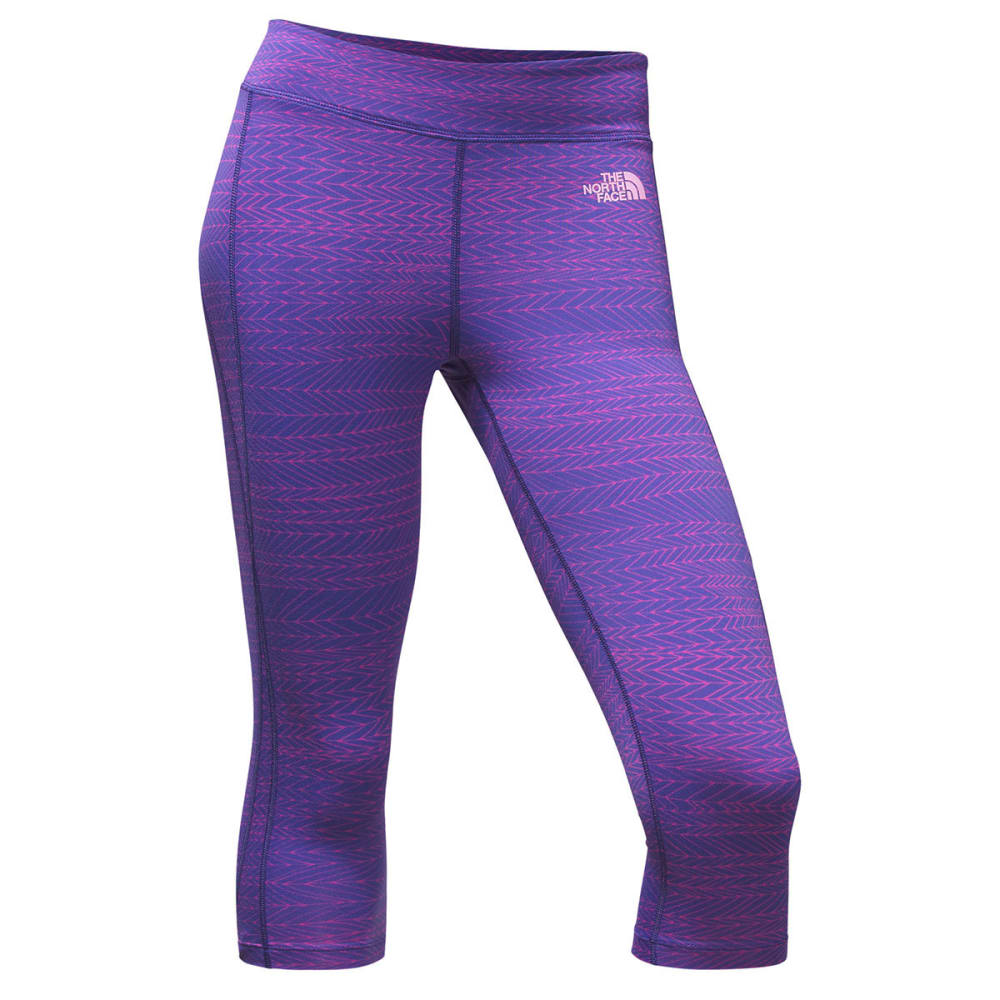 THE NORTH FACE Women's Pulse Capri Tights - SWQ-AMPARO BLUE