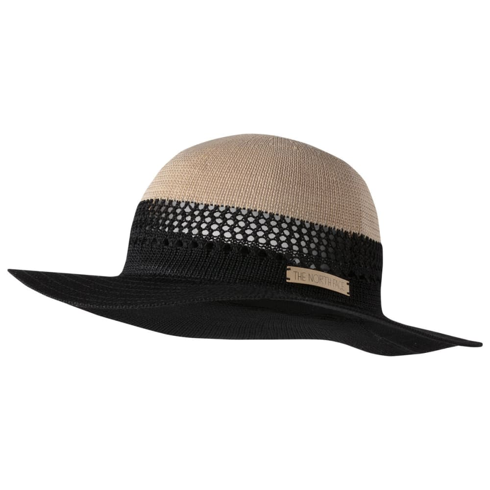 THE NORTH FACE Women's Packable Panama Hat - TNF BLACK-JK3