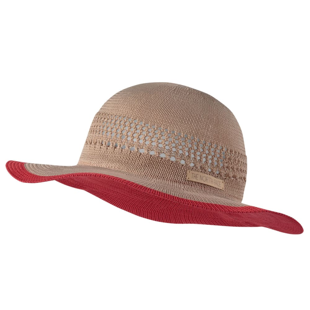 THE NORTH FACE Women's Packable Panama Hat - CAYENNE RED-NXG