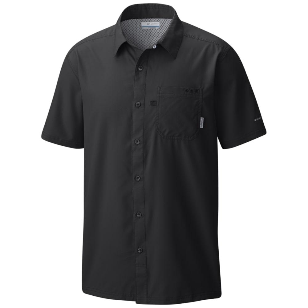 COLUMBIA Men's PFG Slack Tide Camp Shirt - BLACK-010