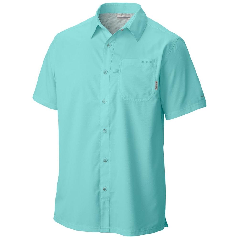 COLUMBIA Men's PFG Slack Tide™ Camp Shirt - GULF STREAM-499