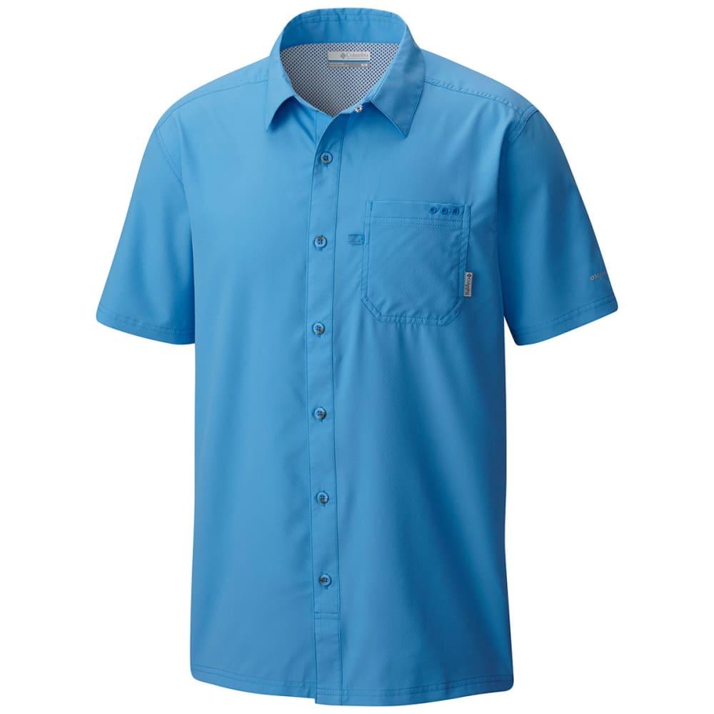 Columbia Men's Pfg Slack Tide™ Camp Shirt - Blue - Size M 1577051