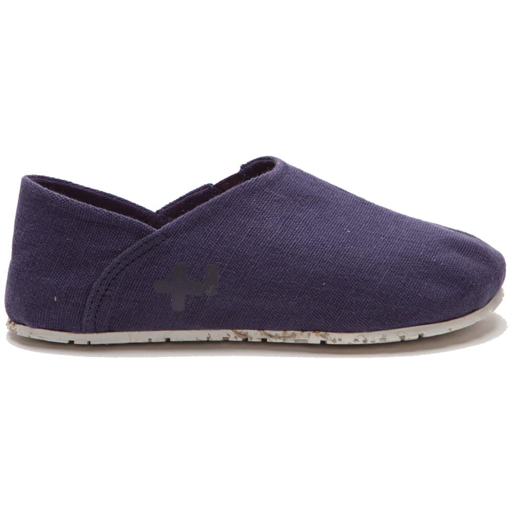 OTZ SHOES Women's Espadrille Linen Classic Shoes - NIGHTSHADE-506