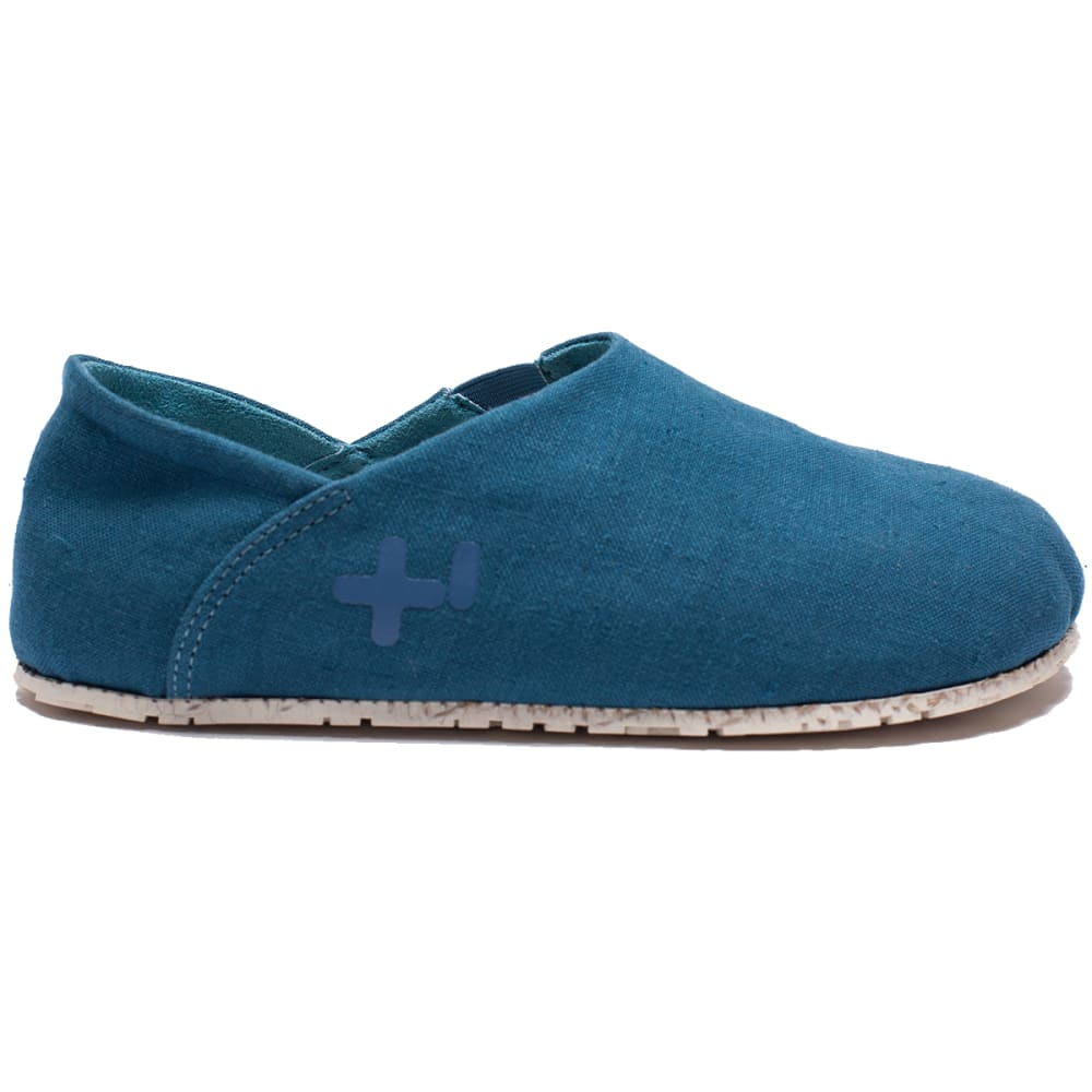 OTZ SHOES Women's Espadrille Linen Classic Shoes - LEGION BLUE-486