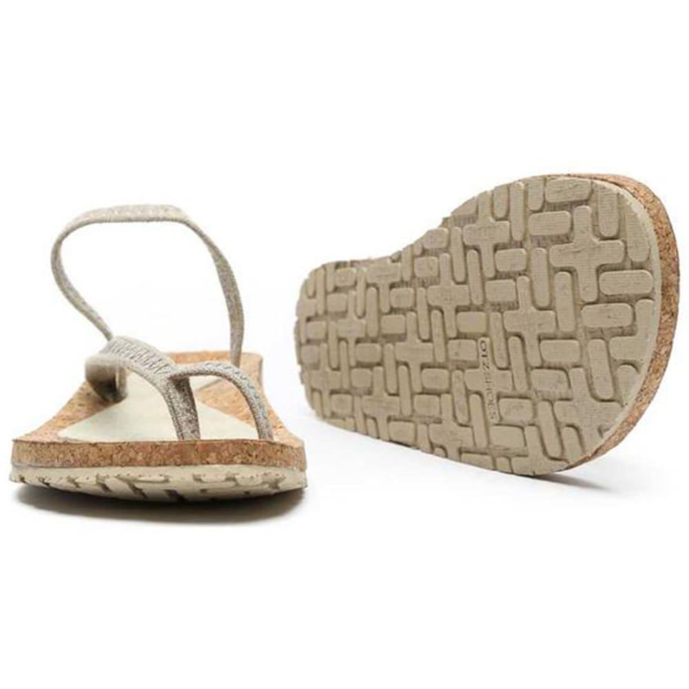 OTZ SHOES Diana Linen Sandals - NATURAL-251