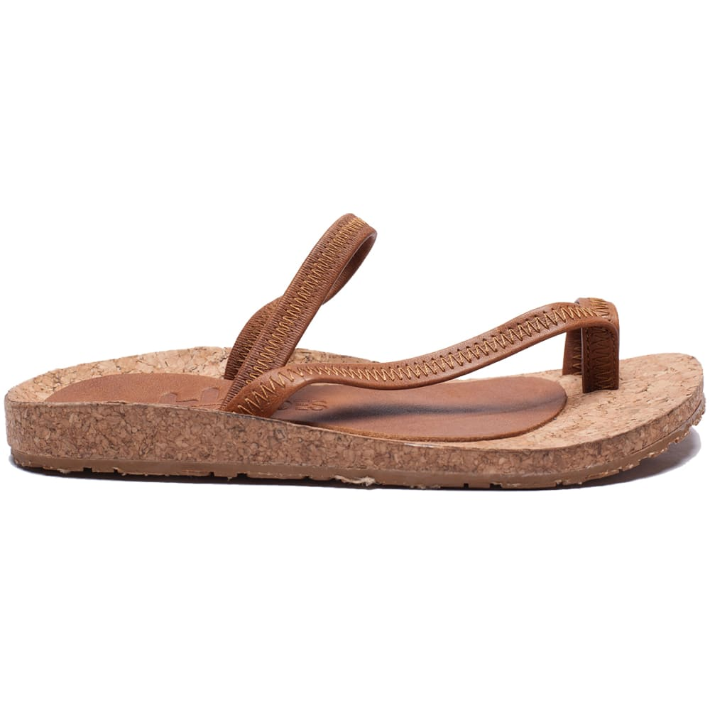 OTZ SHOES Diana Leather Sandals - GINGER-268