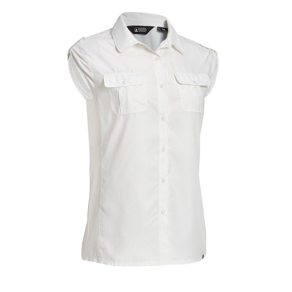EMS® Women's Compass UPF Short-Sleeve Shirt - SNOW WHITE
