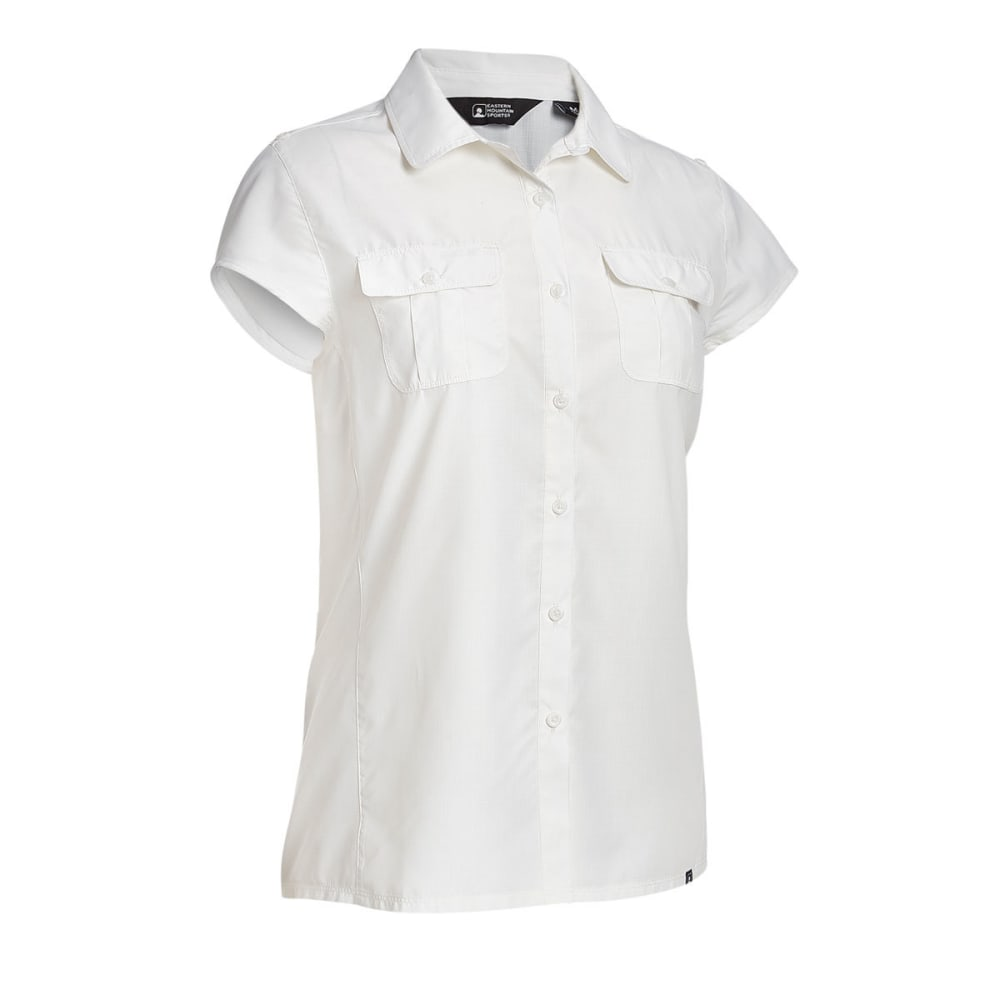 EMS® Women's Compass UPF Short-Sleeve Shirt - SNOW WHITE