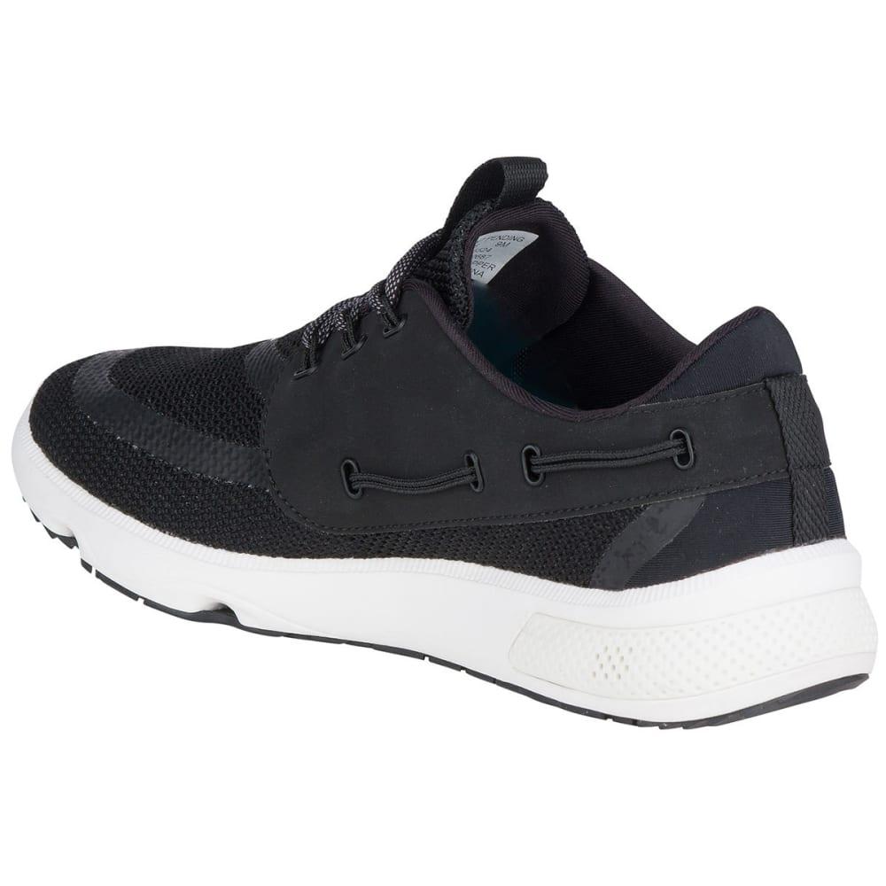 SPERRY Men's 7 Seas Shoes, Black - BLACK