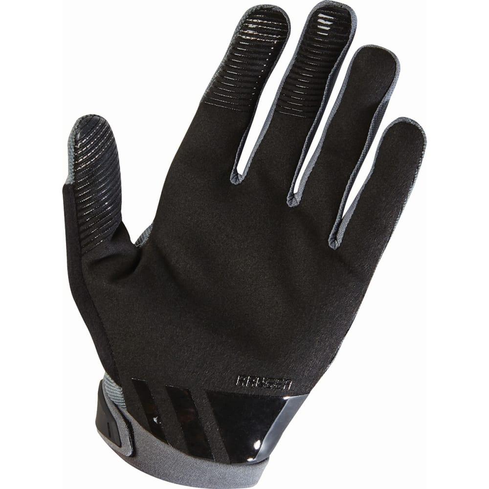 FOX RACING Men's Ranger Gloves - 535 GRAPHITE BLACK