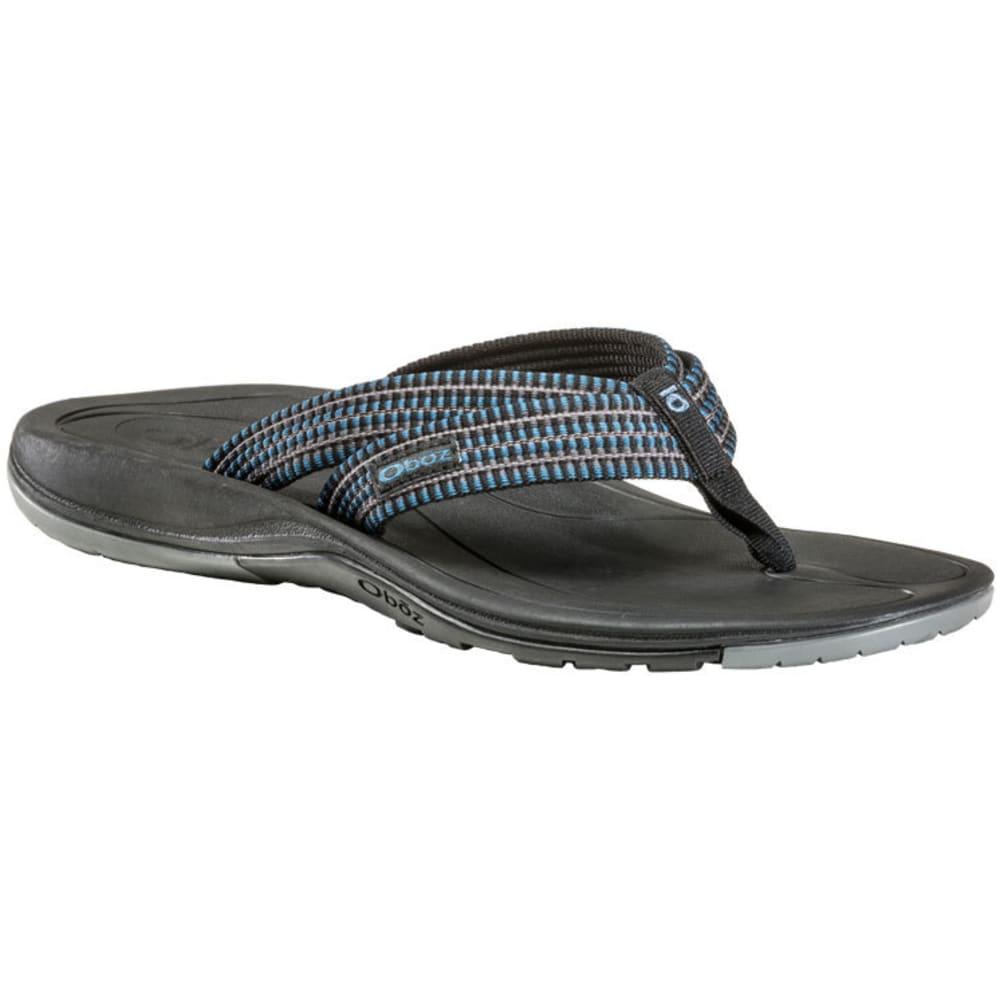 OBOZ Men's Selway Sandals, River Blue - RIVER BLUE