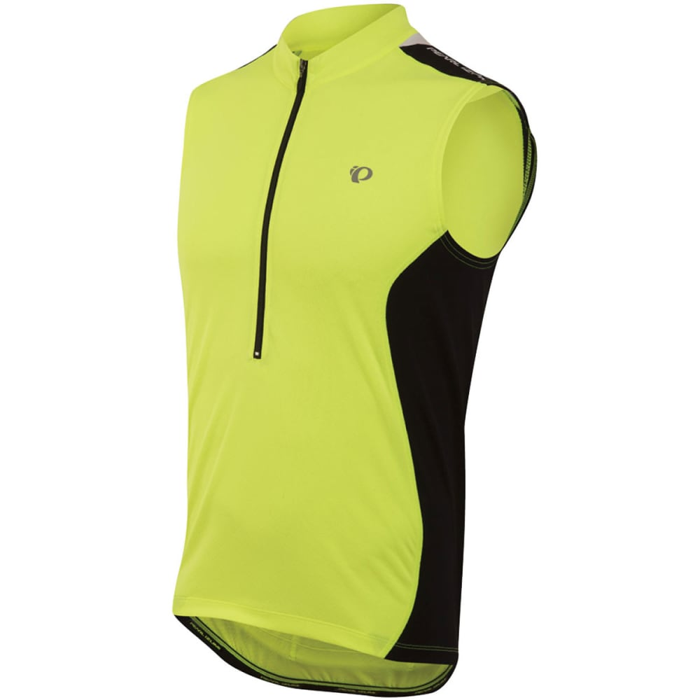 PEARL IZUMI Men's Quest Sleeveless Jersey - 429 SCREAMING YLW/BK