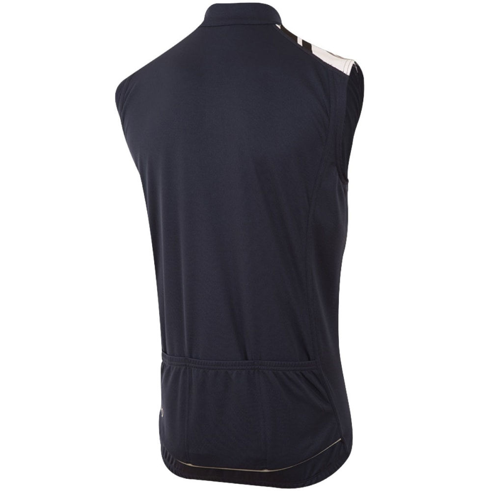 PEARL IZUMI Men's Quest Sleeveless Jersey - 5IN ECLIPSE BLUE