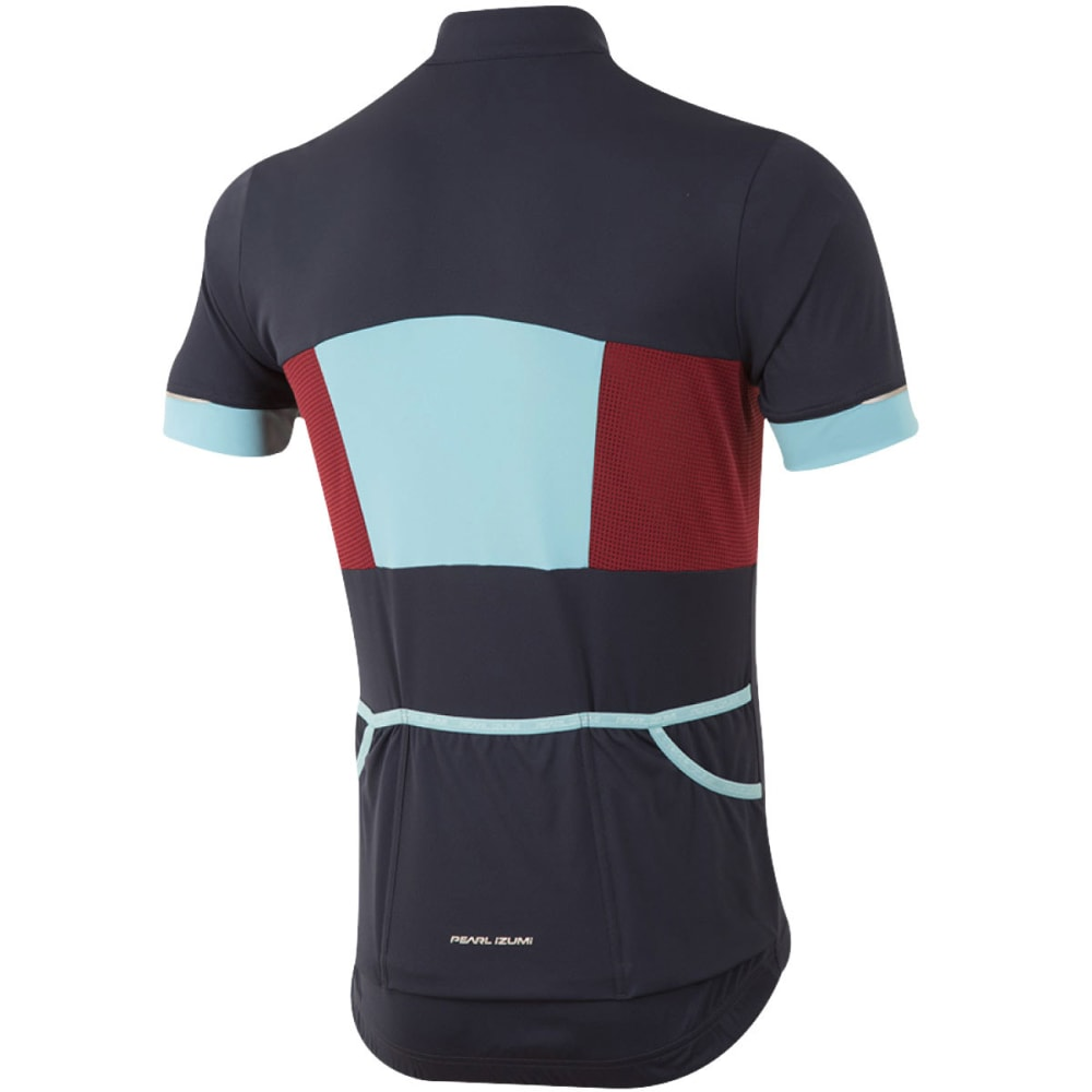 PEARL IZUMI Men's ELITE Escape Semi-Form Cycling Jersey - 5JR ECLIPSE BLUE/BLU