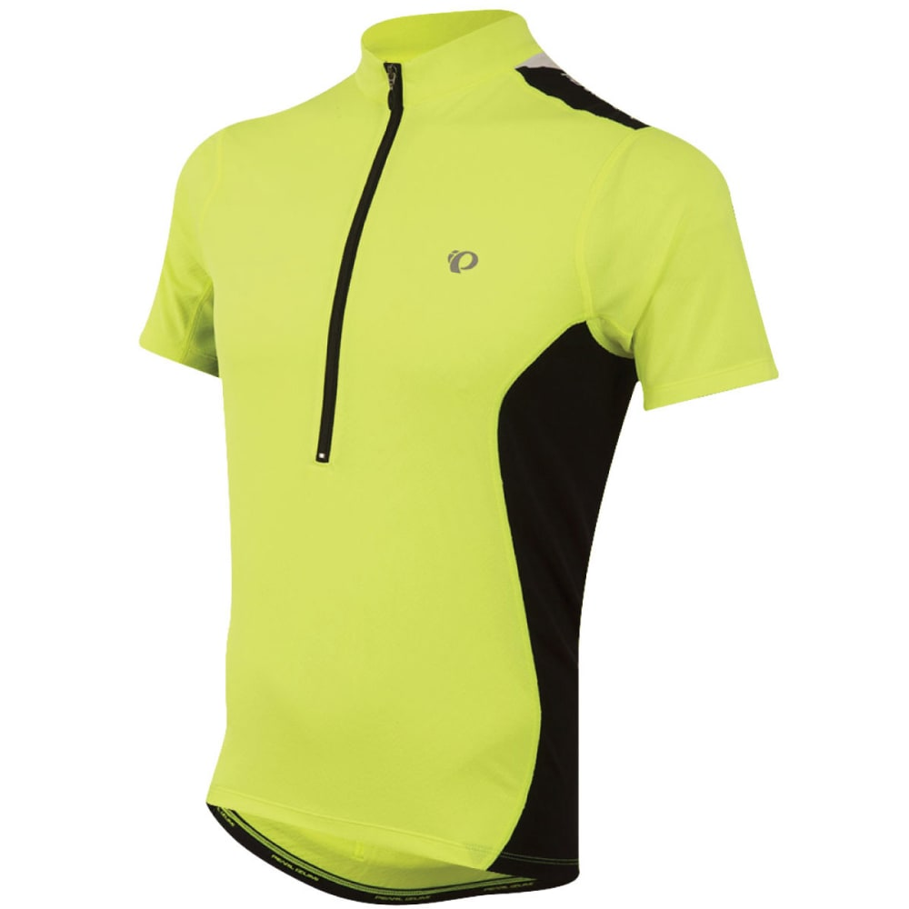 PEARL IZUMI Men's SELECT Quest Cycling Jersey - 429 SCRM YLW/BLACK