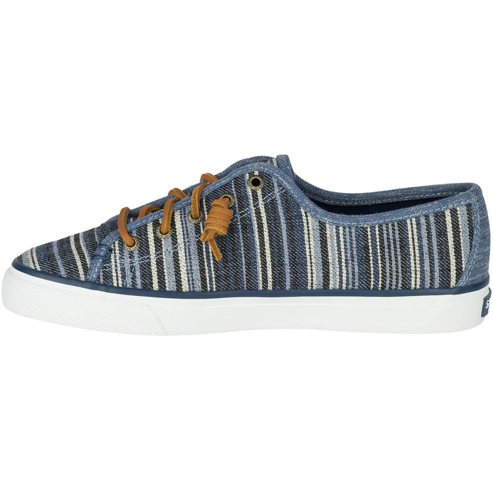 SPERRY Women's Seacoast Denim Stripe Sneakers, Navy - NAVY STRIPE